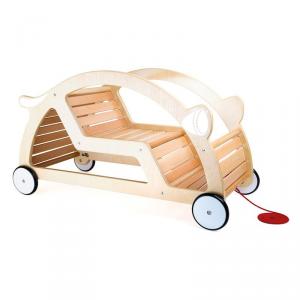 Carretto e altalena in legno 2 in 1 Gioco per bambini