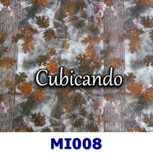 Pellicola per cubicatura mimetico foglie 8