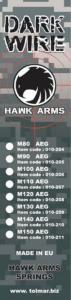 Dark Wire Spring AEG M110