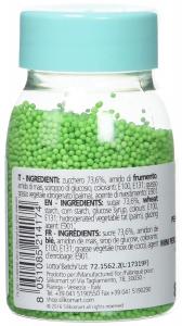 Perline allo zucchero 80 gr Verde Silikomart