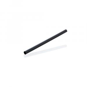 Cannucce biodegradabili corte 13,5cm - NERO