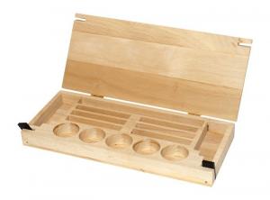 Cassa per magnetici ed accessori in legno