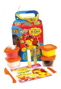 Plastilina modellabile A-Clay Leone Set bricolage gioco per bambini