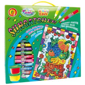 A-Ball Clay Suncatcher Decora e colora palline di plastilinaGioco creativo per bambini