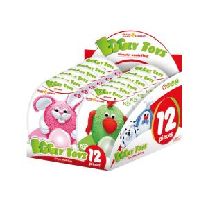 Uovo Eggly Toys da modellare Gioco bricolage scuola Espositore8499display