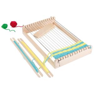 Telaio da tessitura in legno gioco per bambini