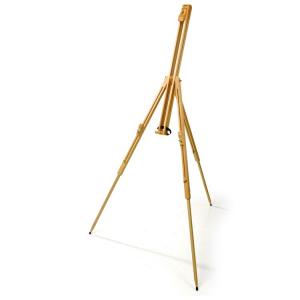 Cavalletto professionale per dipingere in legno regolabile in altezza