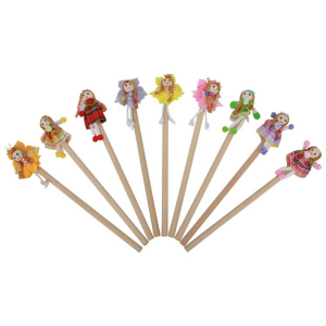 Set matite con Bamboline 9 pezzi
