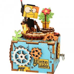 Carillon in legno 3D da costruire Robot Legler 10288