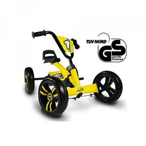 Veicolo a pedali per bambini Go kart BUZZY BERG TOYS Giallo