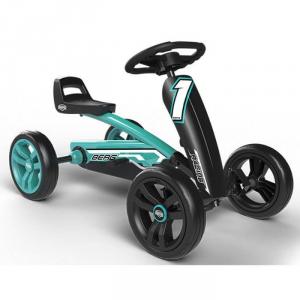 Veicolo a pedali per bambini Go kart BUZZY RACING BERG TOYS Nero