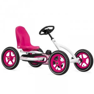 Veicolo a pedali per bambini Go kart BUDDY BERG TOYS WHITE