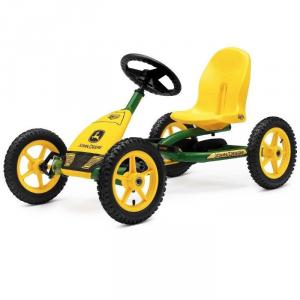 Veicolo a pedali per bambini Go kart BUDDY JOHN DEERE BERG TOYS