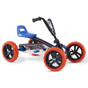 Veicolo a pedali per bambini Go kart BERG Buzzy Nitro Nero