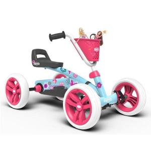 Veicolo a pedali per bambini Go kart BERG Buzzy Bloom Azzurro
