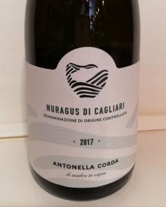 Nuragus Di Cagliari DOC 2017 - Antonella Corda CL. 75