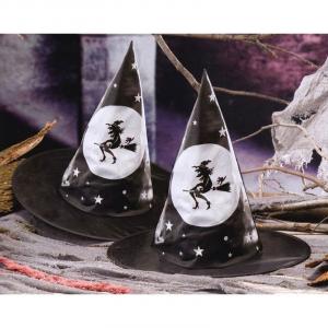 Cappello da strega mago per costume Halloween