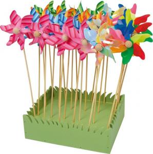 Display espositore girandole vento fiore