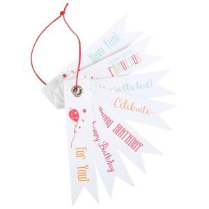 Pendagli per festa compleanno con frasi