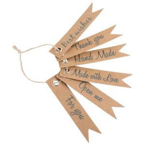 Pendagli di carta per feste e compleanni con frasi Set da 30