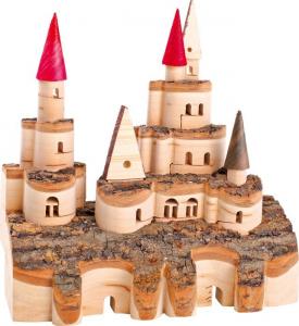 Tronco in legno Castello 3D Classico Arredo casa ufficio