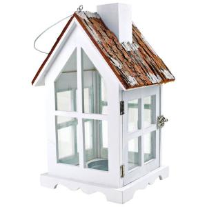 Lanterna in legno Casa di campagna Decorazione arredo casa giardino