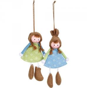 Bambole da decorazione arredo casa