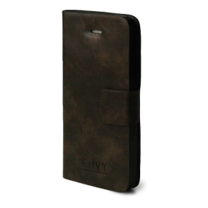 Custodia iPhone 5 FlipCase in similpelle corole marrone