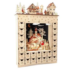 Calendario Avvento in legno
