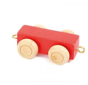 Vagone colorato per separare parole trenino lettere in legno Legler 10350