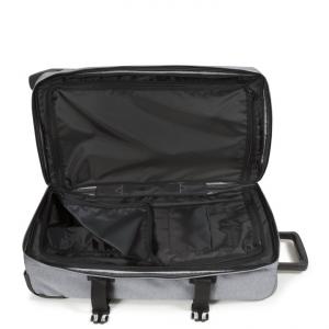 EASTPAK - Tranverz - Trolley medio 2 ruote TSA morbido grigio cod. EK62L_363