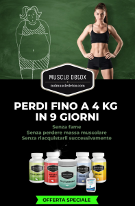 MUSCLE DETOX SPECIAL PACK - Lose Up To 4 Kg In 9 Tagen, OHNE FAME - Von Claudio Tozzi