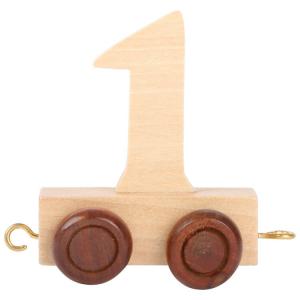 Numeri in legno per Trenino nome Bambini da 0 a 9