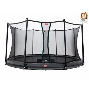 Trampolino Tappeto Elastico Berg InGround Champion Safety Net Comfort Varie Misure