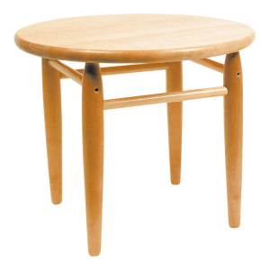 Tavolo tavolino per gioco bambini in legno massiccio Rotondo