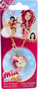 Mia and Me Disney Collana e medaglione a forma di cuore gioco per bambine