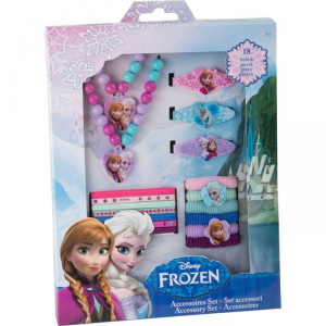 Set gioielli Frozen Disney regina dei ghiacci 18 pezzi Elsa e Anna