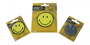 Immagini da stirare Smiley set da 3
