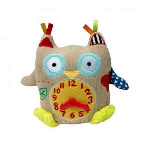 Peluche Gufetto Il mio primo orologio Dolce Toys