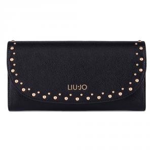 Woman wallet Liu Jo GIOIA A68173 E0033 NERO