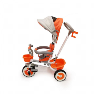 Triciclo da spingere con cappottina Trio Lovely Summer Arancio