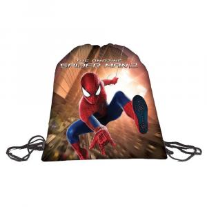 Borsa sacca sport scuola bambino Amazing Spiderman 2
