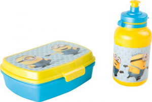 Porta Merenda Lunch Box e borraccia Minions Legler