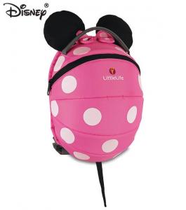Zaino zainetto scuola asilo Littlelife Minnie Disney Rosa +3 ANNI