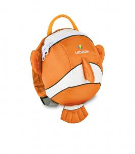 Zainetto bimbo con rendinella Littlelife Pesciolino Nemo, 1-3 anni