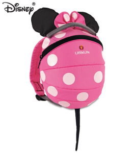 Zainetto bimbo con rendinella Littlelife Minnie Disney, 1-3 anni