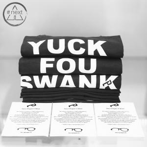 Luca Pagni T-shirt - Youk Fou Swank - Nero