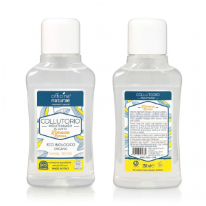 Collutorio naturale ecobiologico Officina Naturae 250 ml Limone