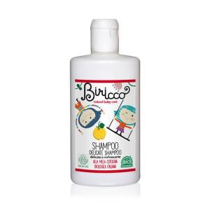 Shampoo delicato e naturale per neonati e bambini, Biricco Officina Naturae, 250 ml