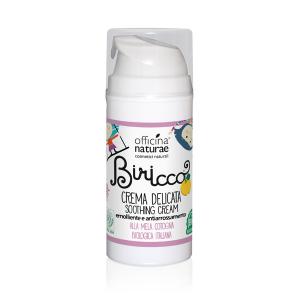 Crema Delicata Biricco Emolliente e Antirrossamento alla Mela Cotogna Biologica, Officina Naturae
